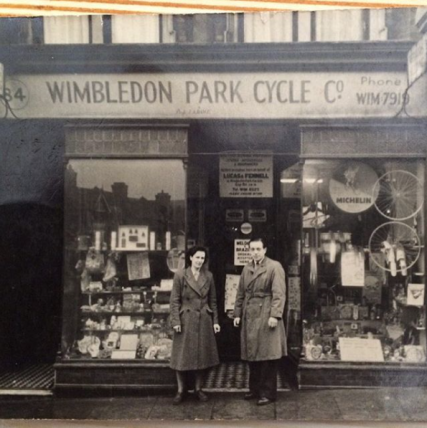 wimbledon park cycle co raleigh great grandad