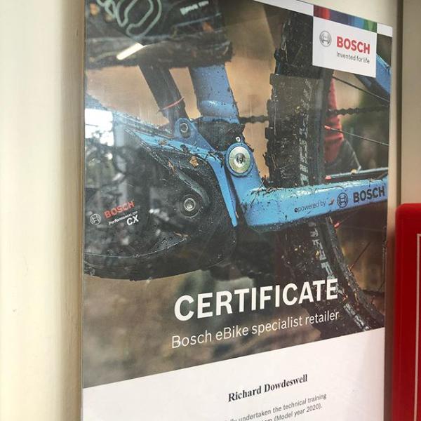 certificate bosch ebike 2020